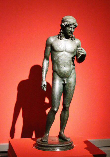 escultura exposicion pompeya