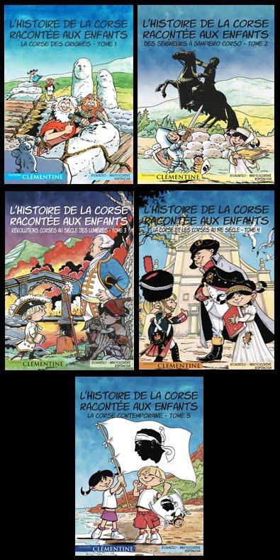 L'Histoire de la Corse racontée aux enfants (5 tomes)