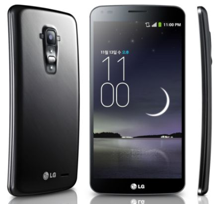 LG G Flex 6-inch Curved Display Smartphone