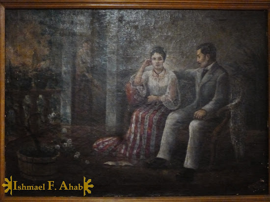 Painting of Jose Rizal in the Philippine National Museum