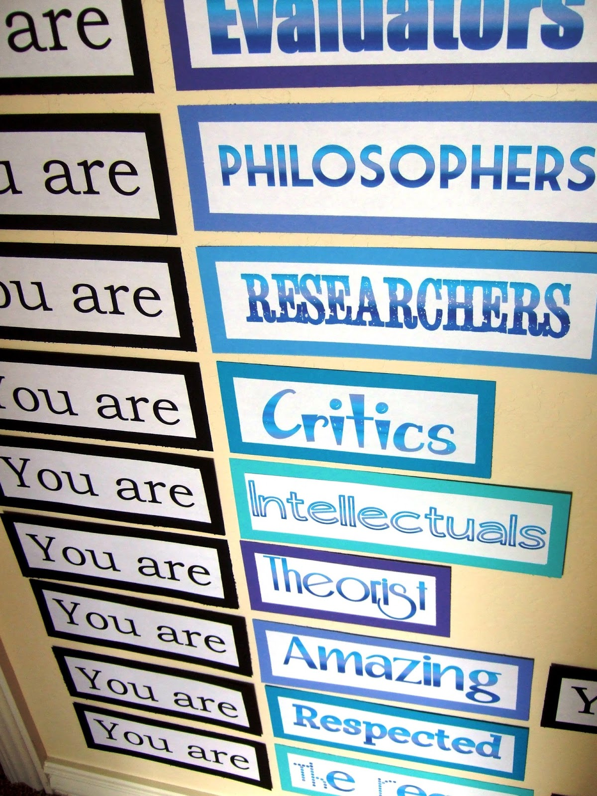 Language Arts Classroom Decorations ~ The inspired classroom july