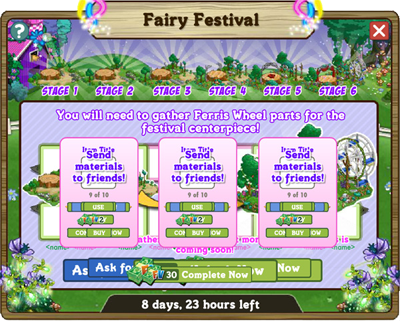 FarmVille Fairy Festival Preview