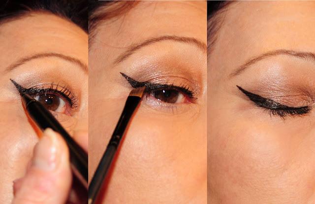 Eyeliner-Katzenlook
