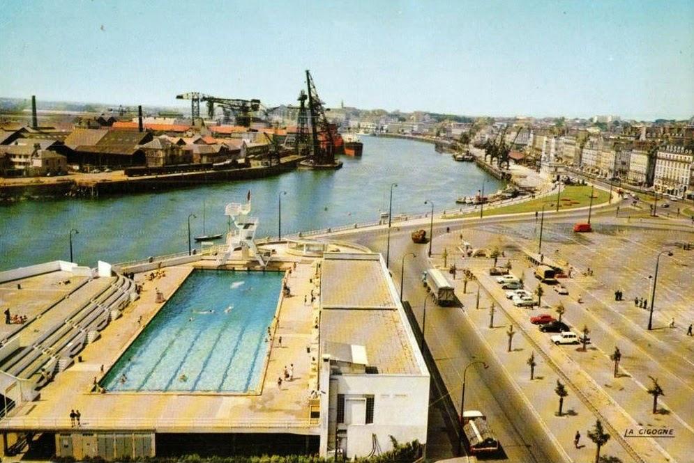 nantes la ville d 39 apr s guerre nantes la piscine et l 39 ile