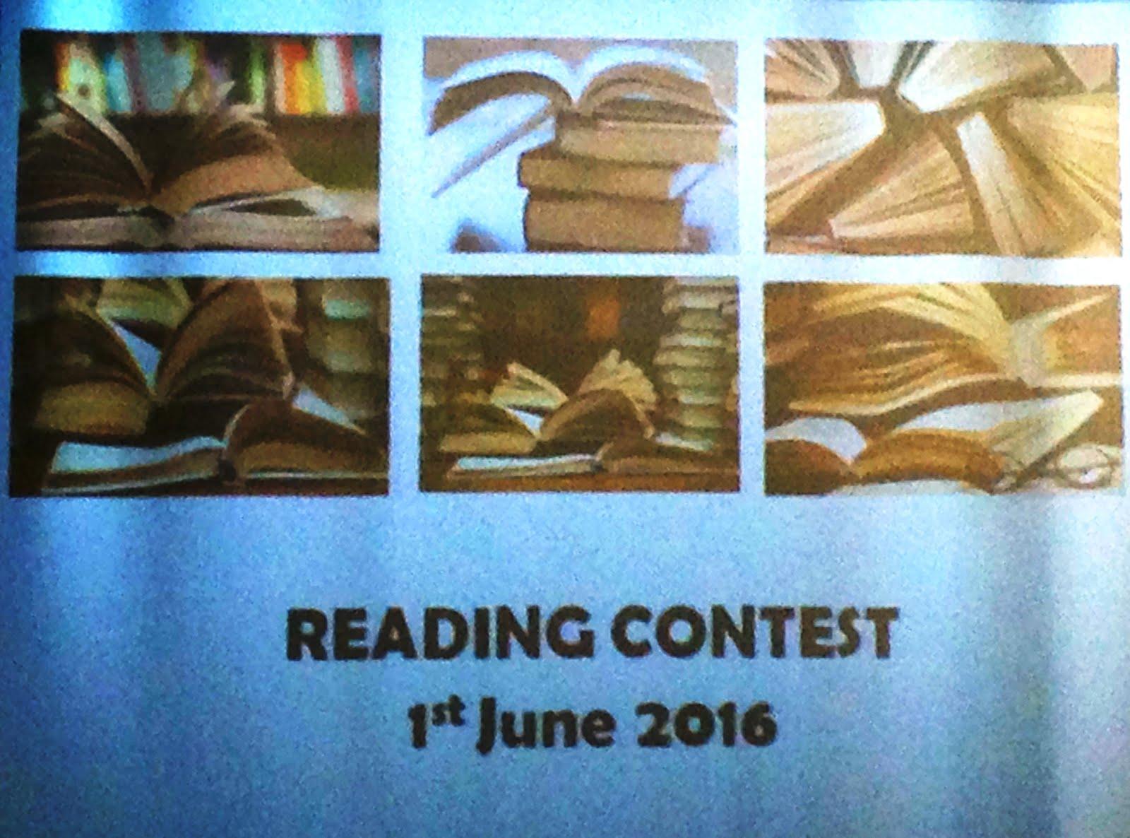 Concurso de Leitura em Língua Inglesa