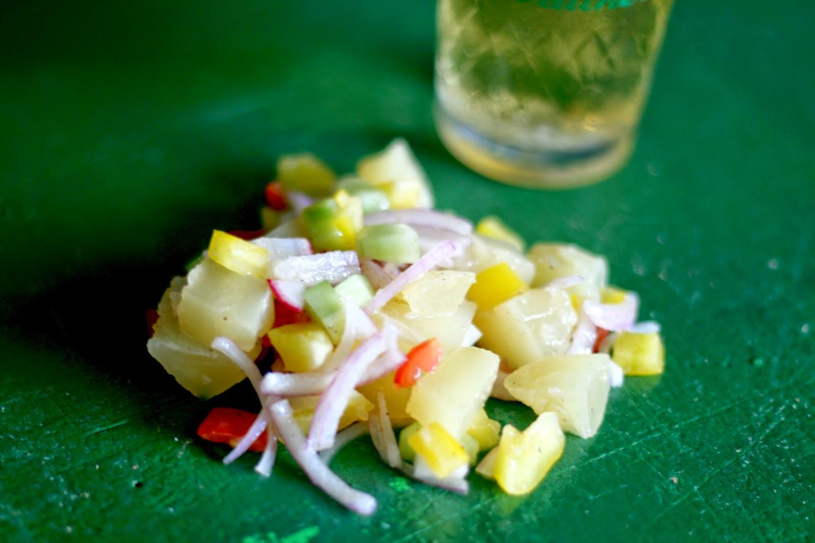 Hessischer Handkees-Salat