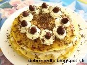 Tvarohová palacinková torta - recept