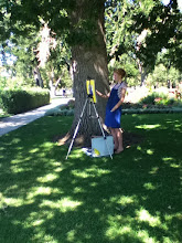 Plein air painting at Washington Park