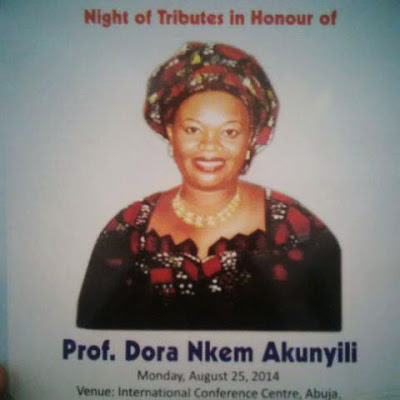 Photos from a Night of Tribute for Late Prof. Dora Akunyili at the ICC, Abuja