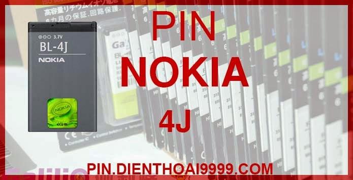 Pin Nokia BL-4J - Pin bl 4j chính hãng giá: 160.000 - Pin bl 4j dung lượng cao 1200mAh giá: 130.000 - Bảo hành: 6 tháng  - Pin tương thích với điện thoại Nokia C6   Thông số kĩ thuật: - Pin bl 4j được thiết kế kiểu dáng và kích thước y như pin nguyên bản theo máy, Pin tiêu chuẩn, chất lượng như pin theo máy. - Kích thước: 59 mm x 37.5 mm x 4 mm - Dung lượng: 1200 mah - Điện thế: 3.7V - Công nghệ: Pin Li-ion Battery   Mô tả sản phẩm:  - Pin Galilio nhờ nghiên cứu và phát triển công nghệ lithium nên đã đạt được pin dung lượng cao nhất cho phép (từ 1,5- 2 lần) nhưng vẫn đảm bảo được chất lượng cao, đã vượt qua nhiều tiêu chuẩn chất lượng như ISO 9001, ISO 1400I, CERTIFICATED, hãng cũng ứng dụng Công Nghệ an toàn mà những hãng pin khác không có được: Controller IC, Control swithches, Temperature Fuse.. - Thiết kế kiểu dáng và kích thước y như pin nguyên bản theo máy, thuận tiện và dễ dàng thao tác, pin dung lượng cao cung cấp đủ nguồn điện cho máy sử dụng được trong thời gian dài, có thể mang đi bất cứ đâu để phòng khi pin của máy bạn hết mà không có điều kiện để sạc. - Cho phép bạn giữ các cuộc nói chuyện và bảo đảm cho bạn không bỏ lỡ các cuộc gọi điện thoại quan trọng - Pin sạc bằng cách gắn vào điện thoại và sạc như pin gốc - Sản phẩm đạt tiêu chuẩn tuyệt đối về an toàn cháy nổ - Bảo hành đổi pin mới trong 6 tháng.