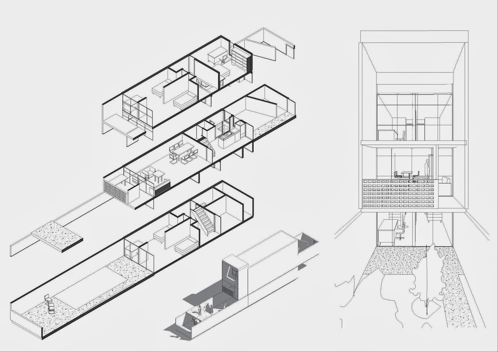 Historia de la arquitectura moderna siedlung halen for Atelier 5 architecture