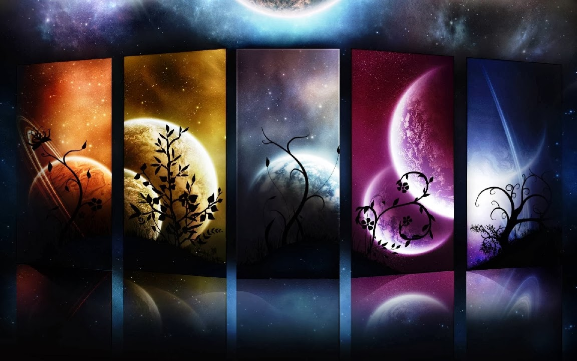 Abstract Background 1920x120 Planets