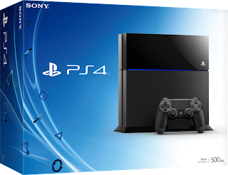 ps4 console box design E3 2013   PlayStation 4 Console Box Design