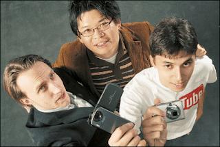 Chad Hurley and Steve Chen, Karim