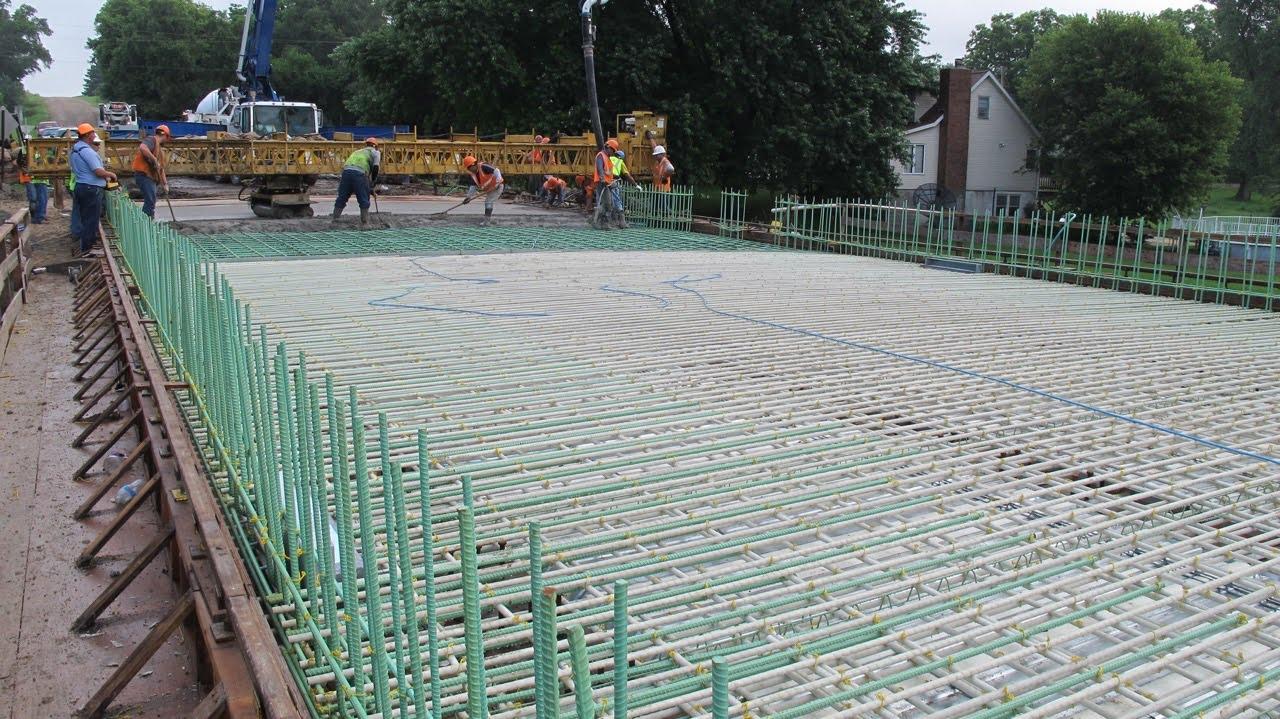 Nebraska Ready Mixed Concrete : Fiberglass rebar and all things frp concrete