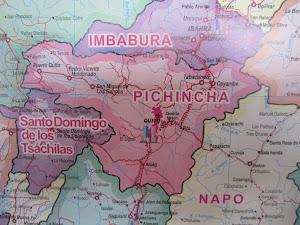 Ubicación de Quito en el mapa