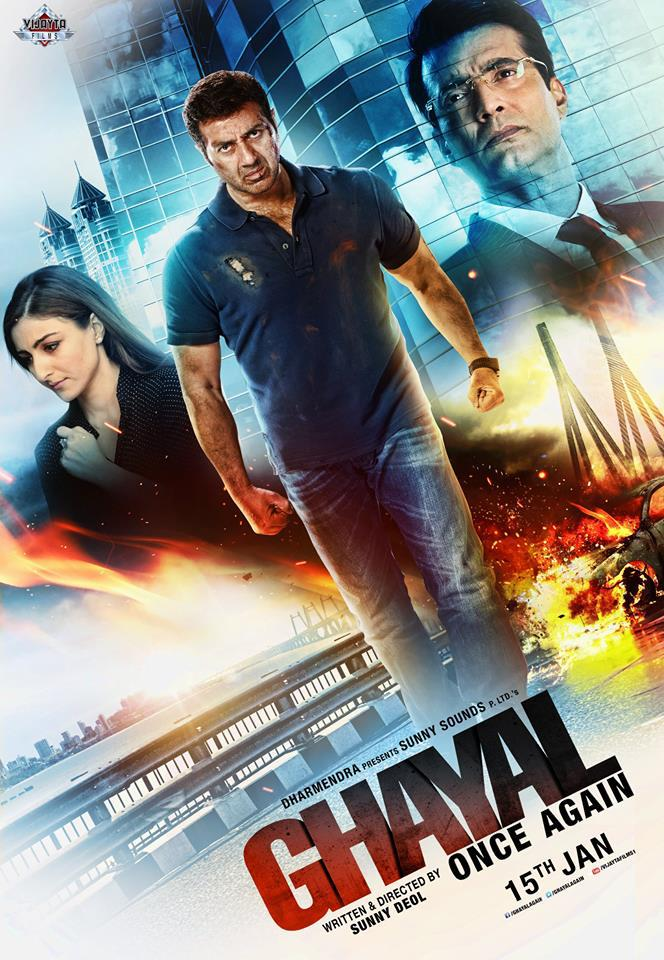 Watch Ghayal Once Again (2016) DVDRip Hindi Full Movie Watch Online Free Download