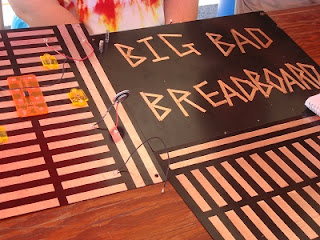 Mini-Maker Faire Evanston, IL Big Bad Breadboard