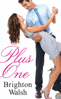 Book cover of Plus One by Brighton Walsh (contemporary romance novella)