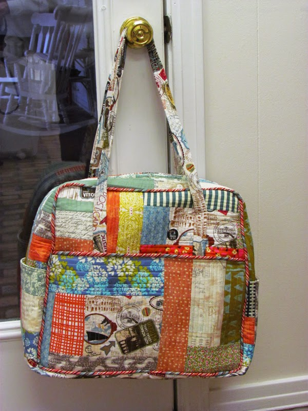 Amy Butler Weekender Bag....made by Marty Mason