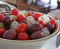 Azeitona, Cebolinha e Tomate com Ervas Finas (vegana)