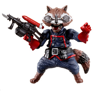 Hasbro Marvel Legends 2013 Series 2 - Rocket Raccoon Build-A-Figure