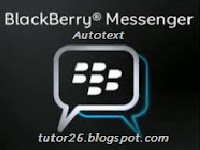 AutoText HP BB Blackberry™