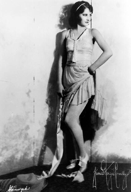 barbara stanwyck portrait