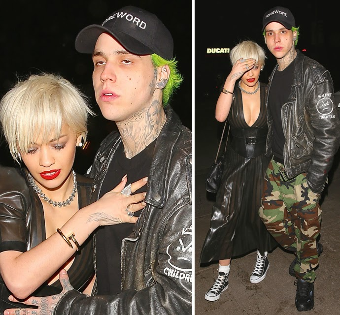 Rita Ora And Ricky Hil Look Worse For Wear when Partying until The Wee Hours Of The Morning