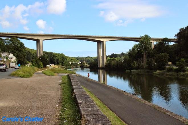Road bridge, Morlaix by Carole's Chatter