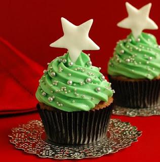 Cupcakes, Navideños