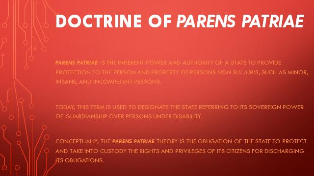 define parens patriae