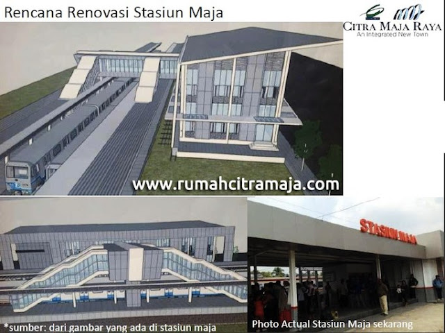 Rencana Renovasi Stasiun Maja