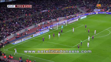 siaran langsung liga spanyol real madrid vs barcelona
