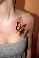 3d Butterfly Tattoos2
