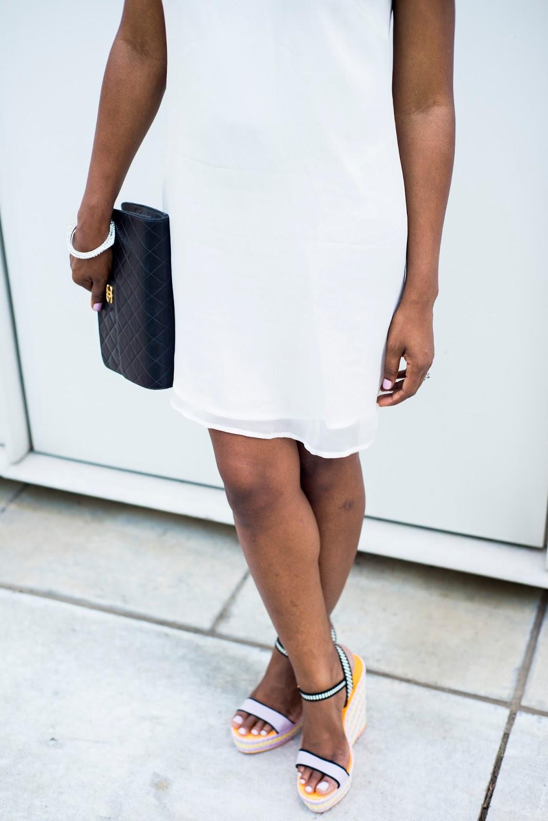 Shift dress: Embellished option