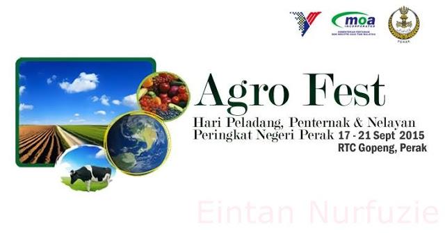 Agro Fest Peringkat Negeri Perak 2015