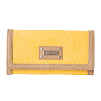 Miche Yellow and Tan Wallet