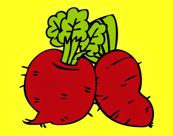 Figuras de frutas y verduras a colores - Imagui
