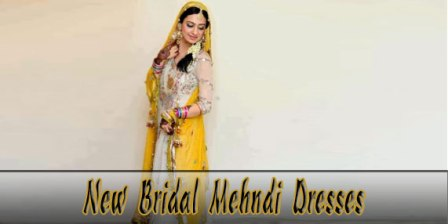 Latest-Bridal-Mehndi-Dresses