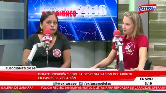 """Luciana León sobre el aborto: """"(Si te violan) puedes hacerte un lavado vaginal"""""""