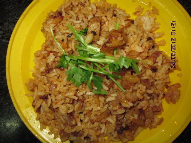 SPICY POTATO FRIED RICE