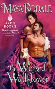cover art for The Wicked Wallflower by Maya Rodale
