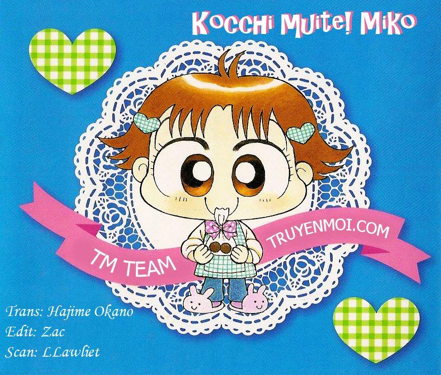 Kocchi Muite! Miiko chap 8 - Trang 1