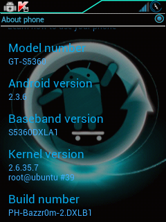 ROM right now and its 98 percent perfect for Galaxy Y | iPlayGalaxyY