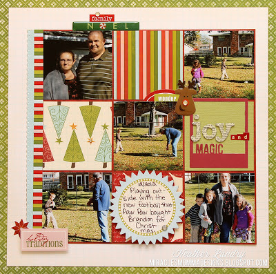 Christmas_Family Scrapbook Page_Scenic Route