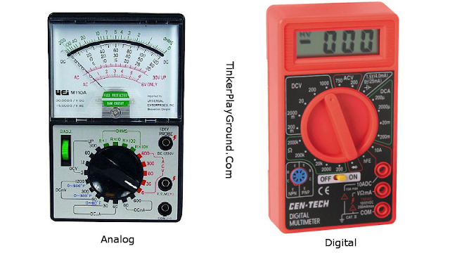 Multimeter Digital Vs Analog