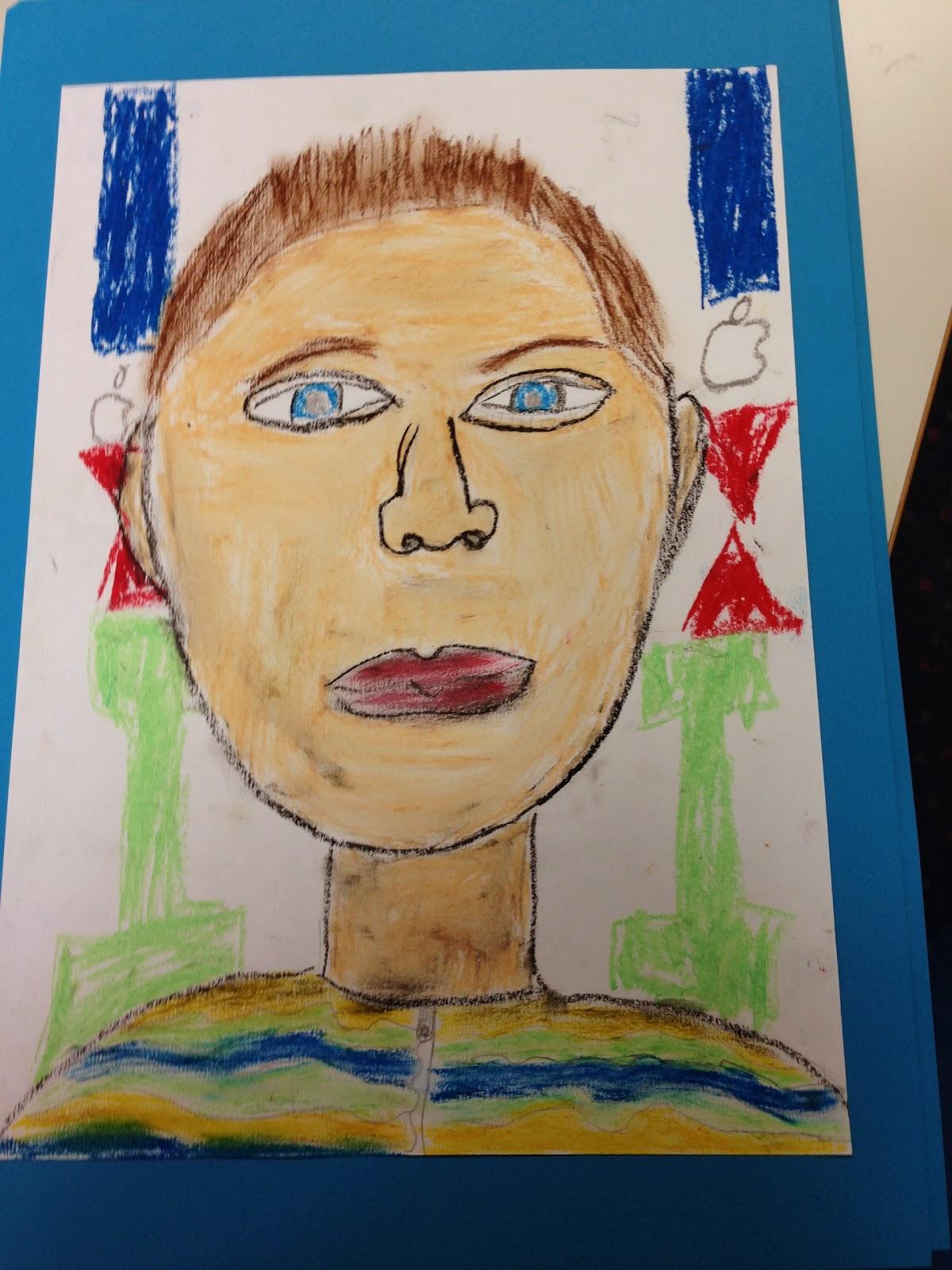 Grundschule 2.0: Selbstportru00e4ts zeichnen in der Grundschule