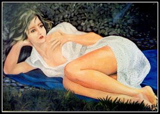 Pintura à óleo sobre tela - quadro 100x70