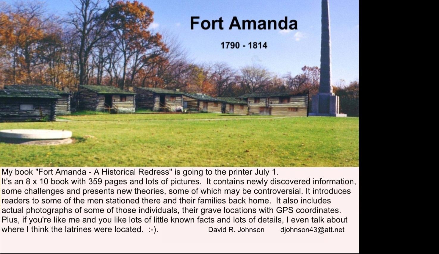 Fort Amanda (1812) - A Historical Redress